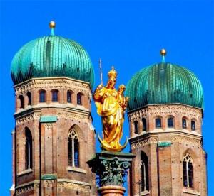 Catedral de Frauenkircheen Múnich en Baviera.