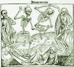 La Muerte Negra asoló Alemania y Europa durante la Edad Media.