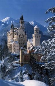 Castillo de  Neuschwanstein en Fussen, Alemania