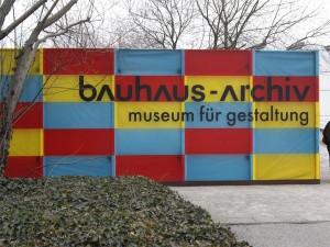 Archivo Bauhaus, Museo del Diseño en Berlín (Foto Flickr de gennie catastrophe)