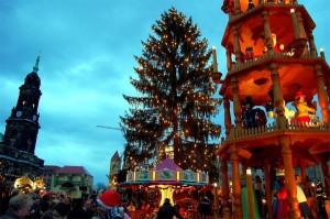Mercado de Navidad en Dresde, Alemania (Foto Flickr de Tobi_2008)