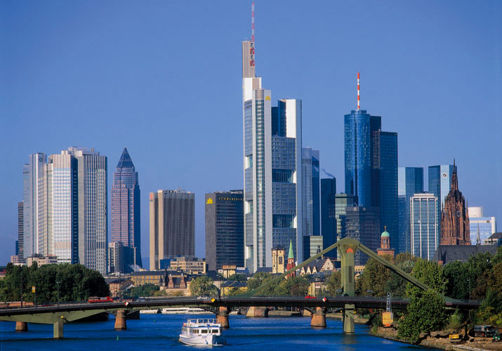 Frankfurt, capital financiera de Alemania
