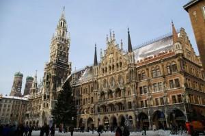 Marienplatz en Munich