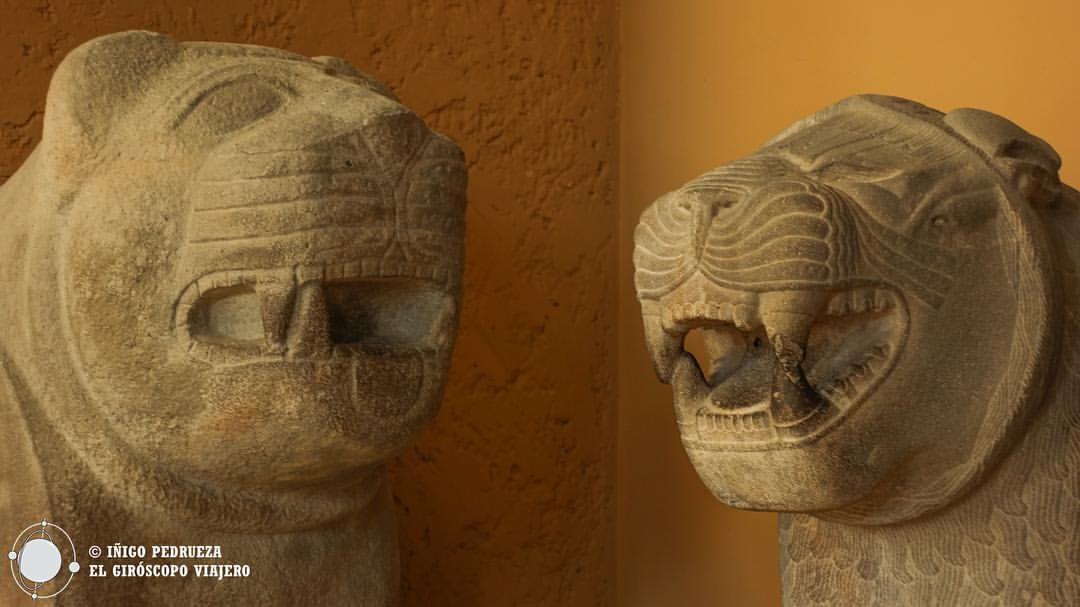 Estatuas del Mueso del Pergamon. Espectacular. ©Iñigo Pedrueza.