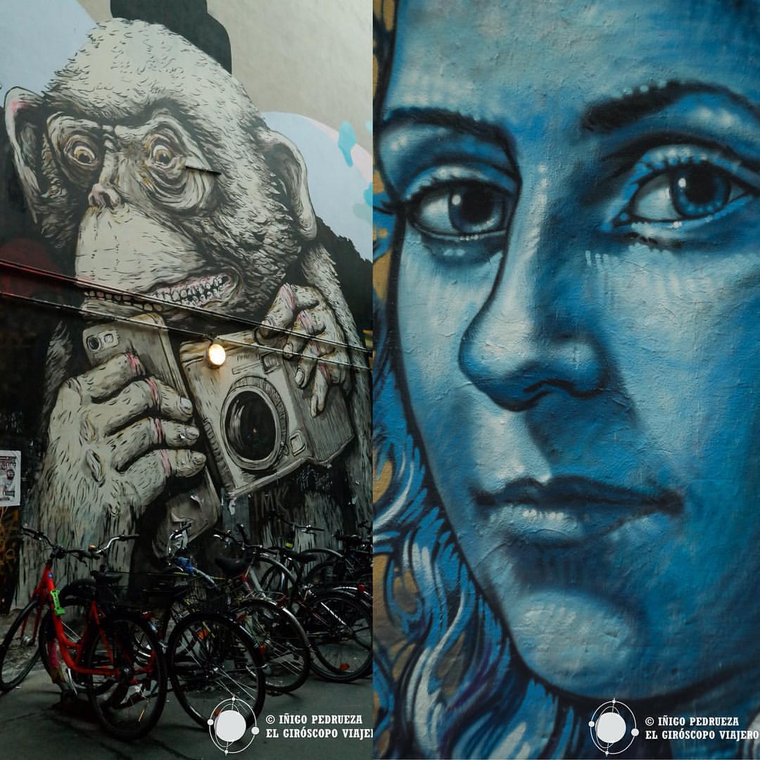 Graffitis en la Haus. ©Iñigo Pedrueza.