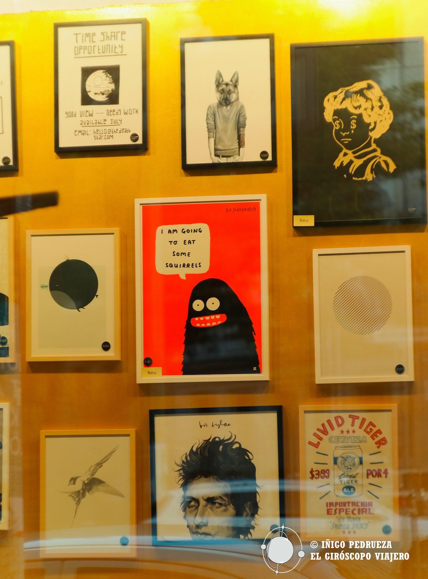 Galeria de arte en Prezlauer. ©Iñigo Pedrueza