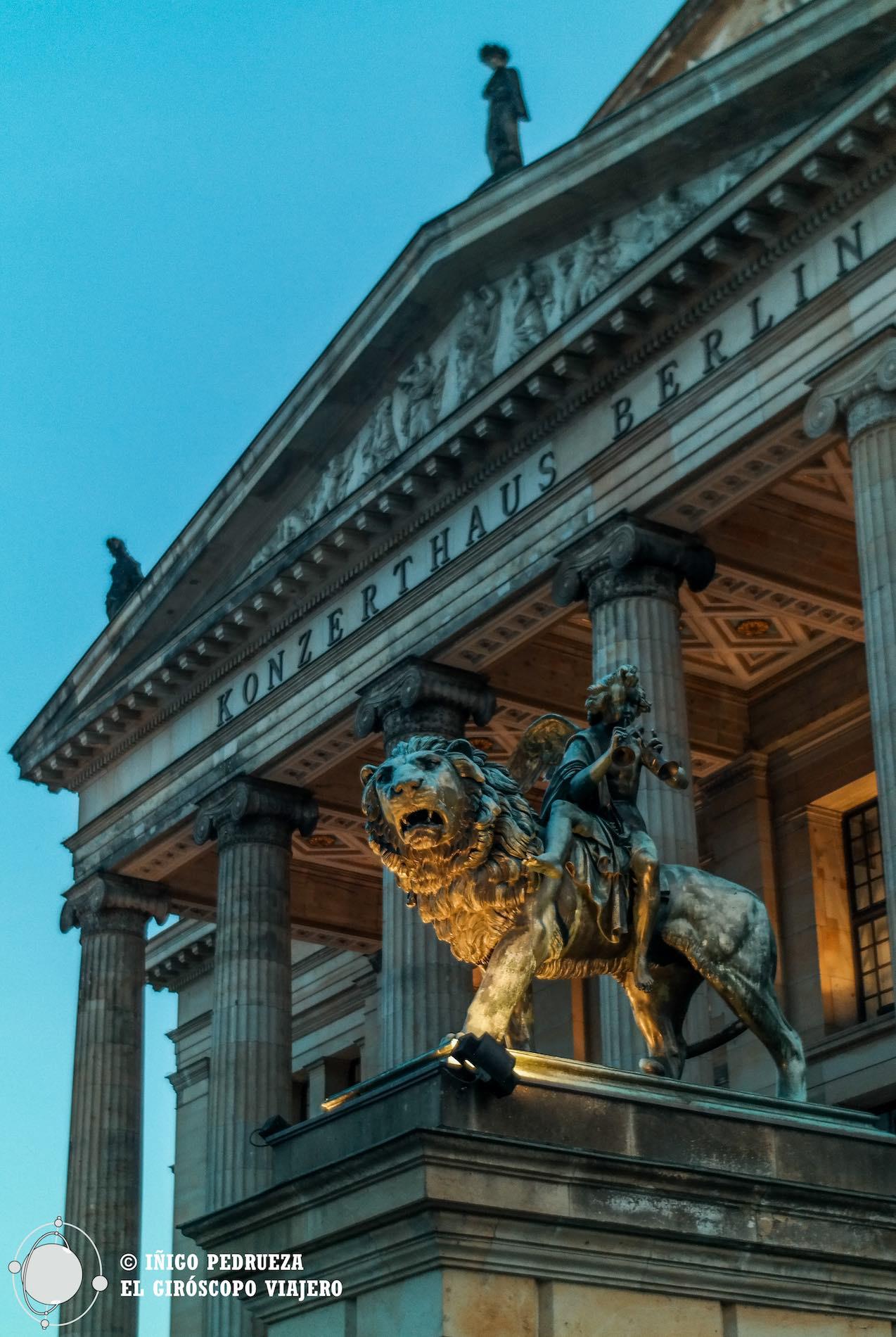Konzerthaus Berlin en la plaza Gendarmenmarkt. ©Iñigo Pedrueza.