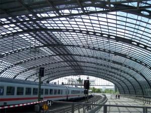 Estación central Hauptbahnhof de Berlín
