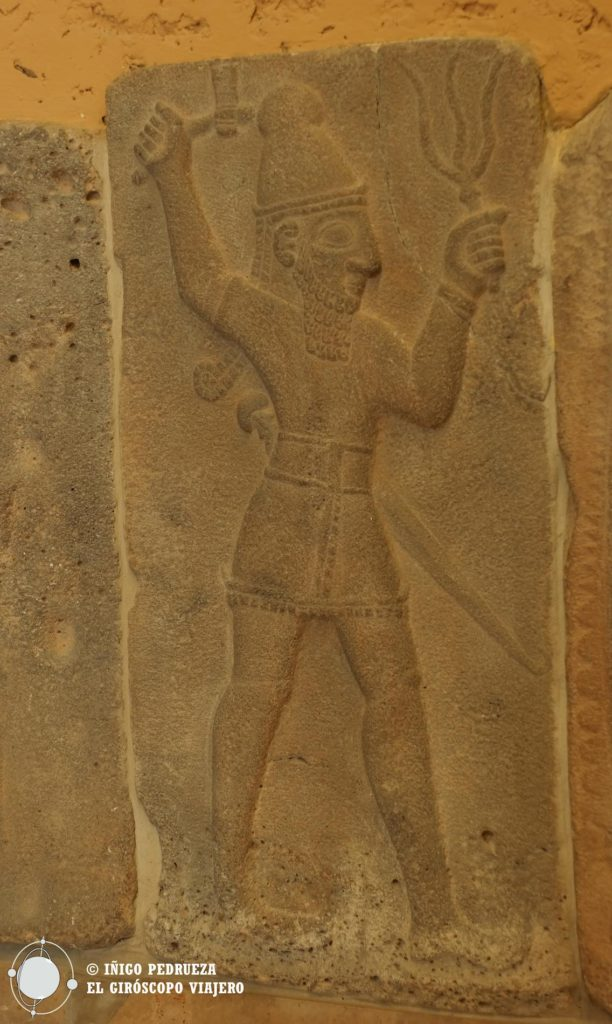 Estatuas mesopotámicas del museo más famoso de Berlin, el Pergamon. ©Iñigo Pedrueza.