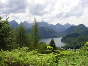 Alpes alemanes.