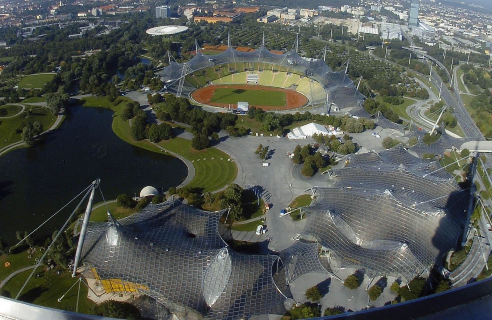 Parque Olympiapark de Múnich, en Baviera