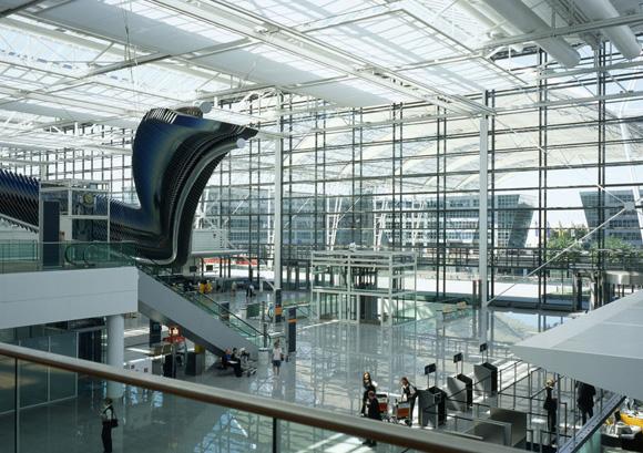 Aeropuerto de Múnich, en Baviera