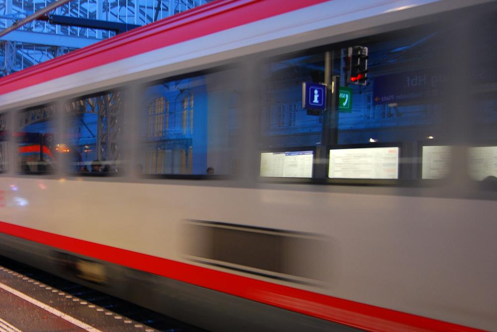 Moverse en tren por Baviera es una opción cómoda y rápida