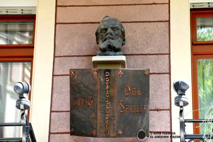 Casa donde vivió Dostoiesvski en Baden Baden