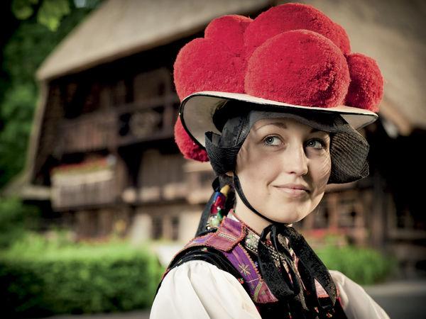 Sombrero típico de la Selva Negra